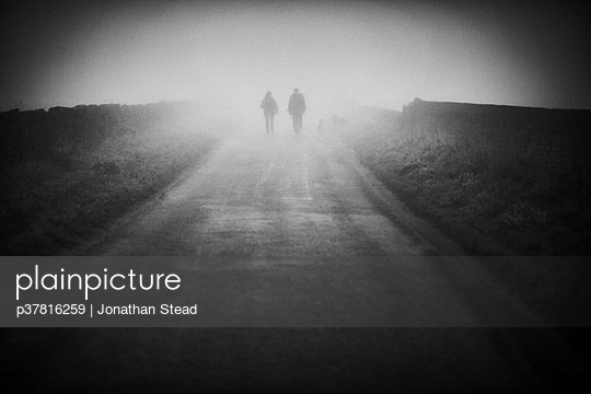 Two figures in mist - p37816259 by Jonathan Stead