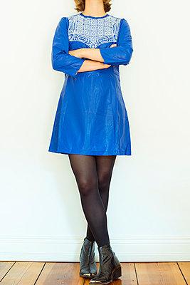 Blue dress - p432m939078 by mia takahara