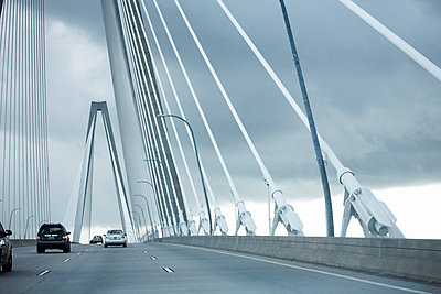 Cooper River Bridge, Charleston, South Carolina, USA - p694m663778 by Maria K
