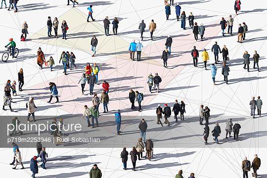 Connected people - p719m2253946 by Rudi Sebastian