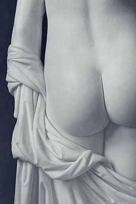 statue female nude - p1280m2073110 by Dave Wall