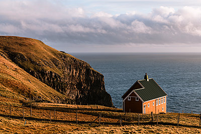 Lonely house by the sea - p1585m2283794 by Jan Erik Waider