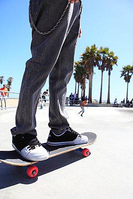 Skateboarder - p0452801 by Jasmin Sander
