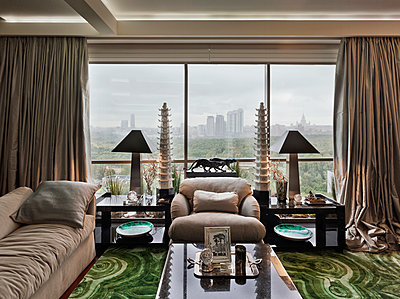 Luxury apartment in Moscow - p390m1091737 by Frank Herfort