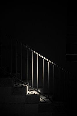 Spotlit staircase - p1170m967819 by Bjanka Kadic
