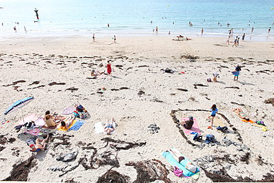 Beach - p1289m1124933 by Elisabeth Blanchet
