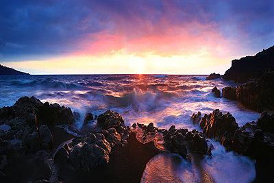 Wai'anapanapa State Park near Hana in Maui, Hawaii. - p1424m1500706 by Jeffrey Murray