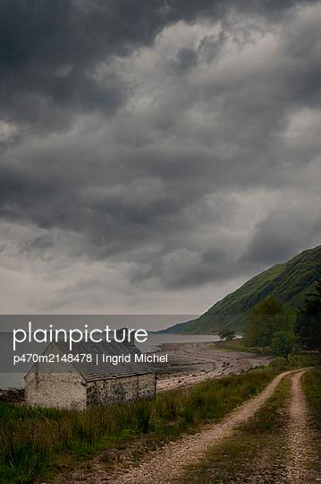 Haus an der Küste von Schottland - p470m2148478 von Ingrid Michel