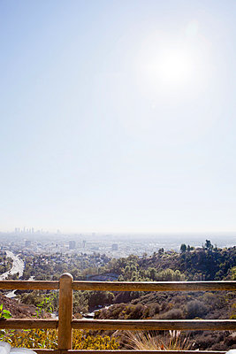 View over Los Angeles - p956m1044252 by Anna Quinn