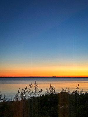 Sunset on Fyn - p382m2283960 by Anna Matzen