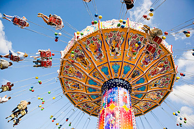 chairoplane at fairground - p4295249 by Brigitte Sporrer