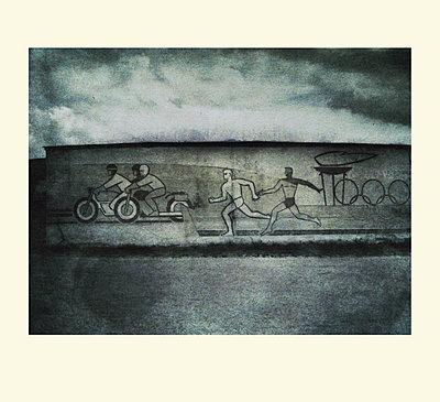 Wandmalerei - p979m1513312 von Iren Dymke