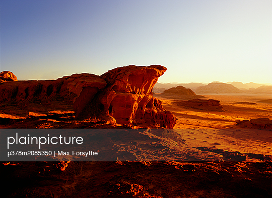 Wadi Rum - p378m2085350 by Max Forsythe