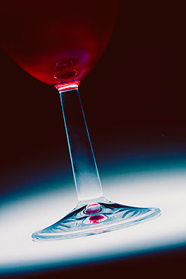Glass full of red wine  - p1057m1564504 by Stephen Shepherd