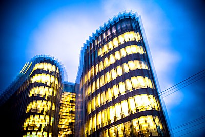 Modern building - p1062m1172124 by Viviana Falcomer