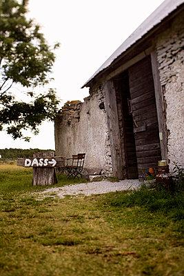 A limestone house Gotland Sweden. - p31221440f by Peter Rutherhagen