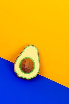 Avocado - p451m2263520 by Anja Weber-Decker