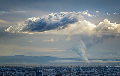 France, View over Lyon - p910m2237727 by Philippe Lesprit