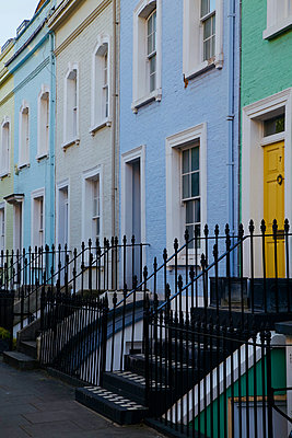 Great Britain, London, Terraced houses - p1399m2204258 by Daniel Hischer