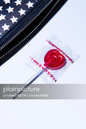 Herzförmiger Lolli - p1149m2192776 von Yvonne Röder