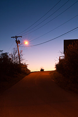 Street at night - p3300443 by Harald Braun