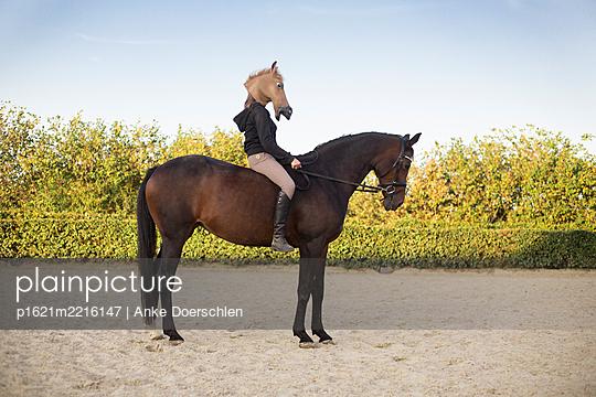 Horse - p1621m2216147 by Anke Doerschlen