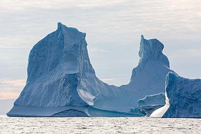 Majestic iceberg formation on Atlantic Ocean Greenland - p1023m2161542 by Martin Barraud