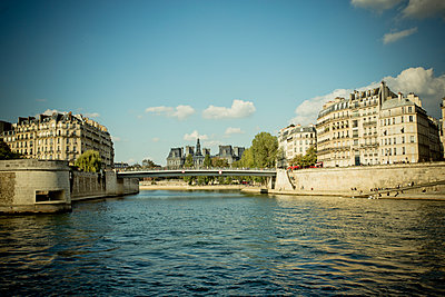 Paris bridge - p445m1177061 by Marie Docher