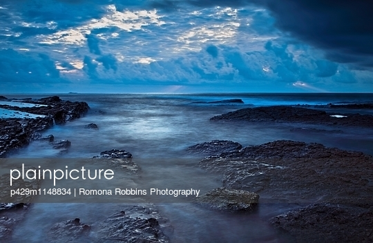 Coast of Fulong, Taiwan, East Asia - p429m1148834 by Romona Robbins Photography