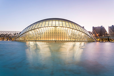 Spain, Valencia, L'Hemisfèric, City of arts and sciences  - p1332m2204567 by Tamboly