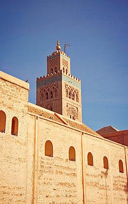 Koutoubia-Moschee in Marrakesch - p382m1171596 von Anna Matzen