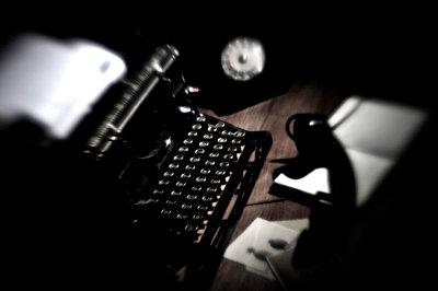 Arbeitsplatz eines Schriftstellers - p8290102 von Régis Domergue