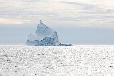 Majestic iceberg formation on Atlantic Ocean Greenland - p1023m2161518 by Martin Barraud
