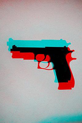 Hand gun, CGI - p975m2286092 by Hayden Verry
