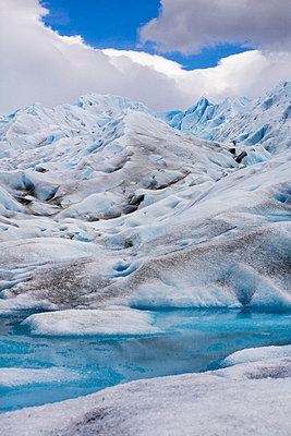 Gletscher in Los Glaciares - p8740044 von Lisa Franz