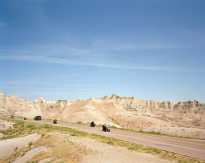 Badlands-Nationalpark, American way of life - p1294m1201538 von Sabine Bungert