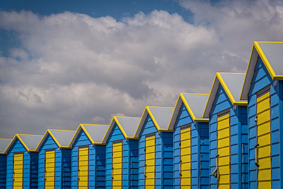 Beach huts  - p1170m2020149 by Bjanka Kadic