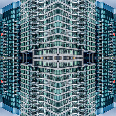 Abstract Architecture Kaleidoscope Boston - p401m2221895 by Frank Baquet