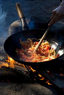Preparing something to eat - p6280419 by Franco Cozzo