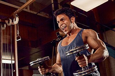 Bodybuilding - p1200m1161368 von Carsten Görling
