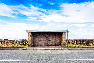 Rural bus stop shelter - p1302m2244775 by Richard Nixon