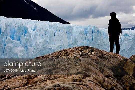 Glacier in Los Glaciares - p8740048 by Lisa Franz