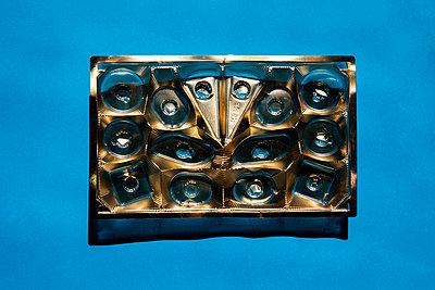 Empty chocolate box - p801m2257696 by Robert Pola