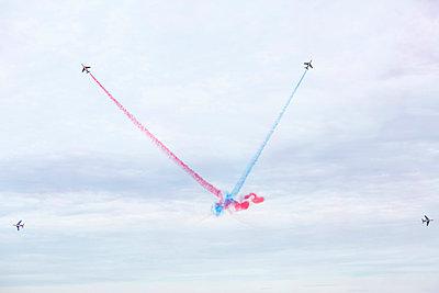 Flugshow, Armée de l'Air, Patrouille de France - p1113m959701 von Colas Declercq