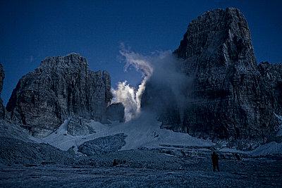 Bergsteigen - p7410014 von Christof Mattes