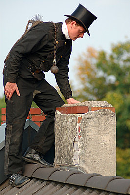 Chimney sweeper - p2685759 by Axel Kohlhase