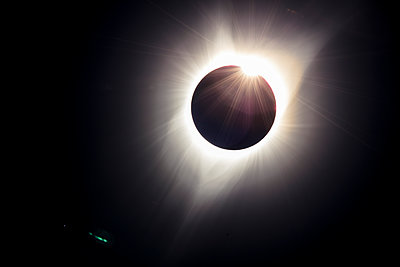 Total solar eclipse, Great American Eclipse, August 21, 2017, Stanley, Idaho, USA - p343m1543664 by Matt Andrew