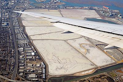 Salzteiche vor San Francisco, Kalifornien - p1196m1128159 von Biederbick & Rumpf