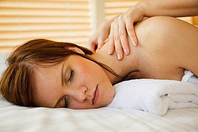 Massage - p4130595 von Tuomas Marttila