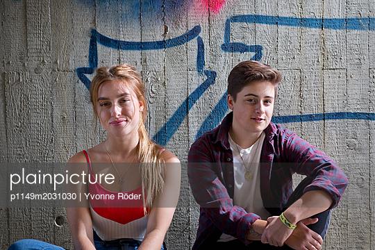 Junges Pärchen - p1149m2031030 von Yvonne Röder